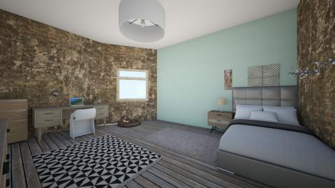 1 - Modern - Bedroom - by Roomie227