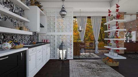 kitchen and boho  - Eclectic - Kitchen - by Ida Dzanovic
