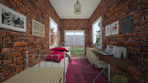 garden - Feminine - Bedroom - by LAS95