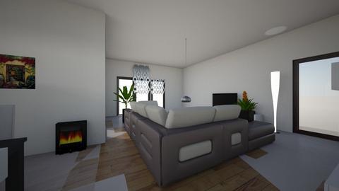 begane grond - Living room - by Feysom