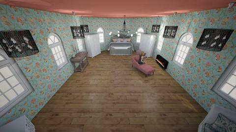 Chic Manor Bedroom - Bedroom - by Mara115