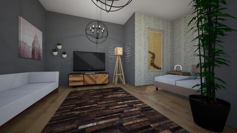 Artsy Bedroom by Jake - Modern - Bedroom - by JakeMaster3899