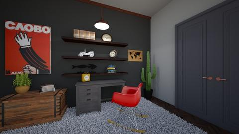 playful office - Office - by Lucywrz