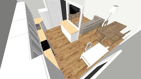 Kitchen redesign - Living room - by kevinhartle