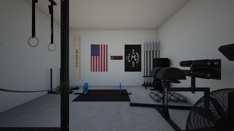 GARAGE GYM - by rogue_bd08cd38ce5d23638ff4d532f515d