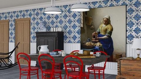 Vermeer - Classic - Dining room - by HenkRetro1960