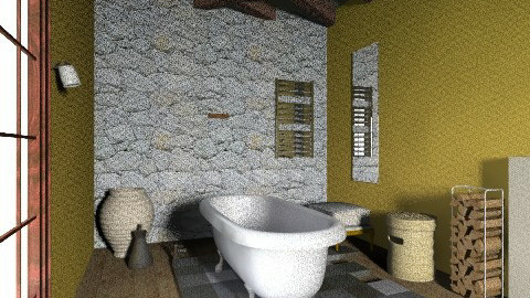 Royalty class themed bath - Bathroom - by uniquetaste