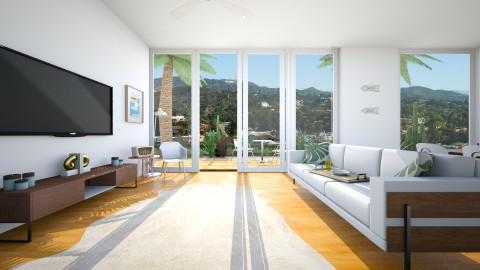 Hollywood Suite - Retro - Living room - by kerryrosemoan