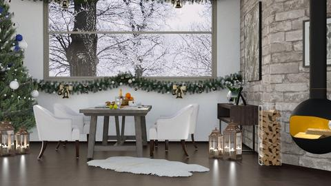 Winter Home DR - Dining room - by millerfam