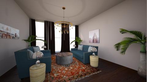 French Sitting Room - Feminine - Living room - by kforrester01