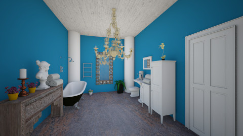 bathroom 3 - Glamour - Bathroom - by Arianna Lanz