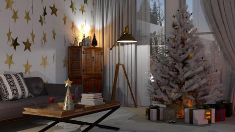 christmas stars - by bnu