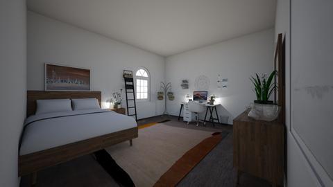 modern - Bedroom - by emmakatherinee