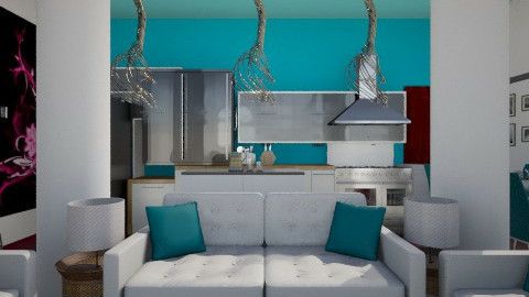design1 - Living room - by maya
