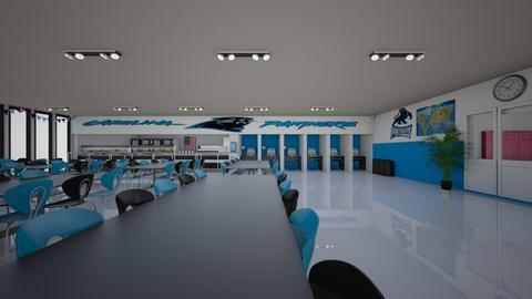 School Canteen - by creato