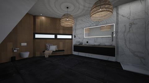 my bathroom - Glamour - Bathroom - by roosb
