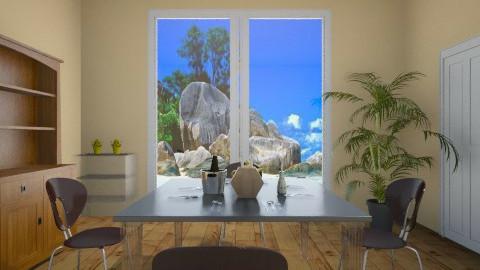 sala da pranzo - by chiccaxx97