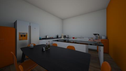 retro orange - Retro - Kitchen - by cinderella1111