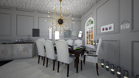 modern dining room - Modern - Dining room - by AmySargeant2402