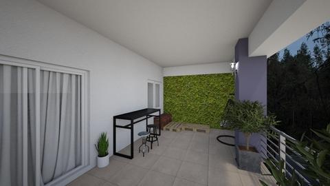 Terrace - Garden - by Marius Arnautu