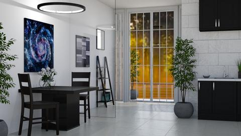 Small and Classy - Modern - Dining room - by millerfam