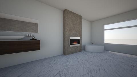 bath - Modern - Bathroom - by calli design