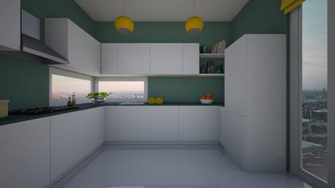 bnm - Kitchen - by hivek93