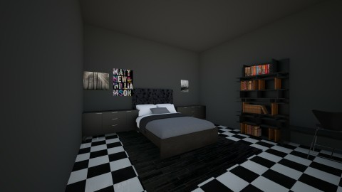 faded - Modern - Bedroom - by Ashley Tapia