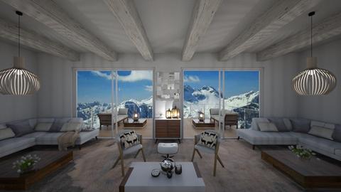 Durmitor Suite II - Minimal - Living room - by Daria Marienko