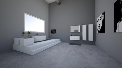 Slaapkamer industrieel - Bathroom - by Fleur0110