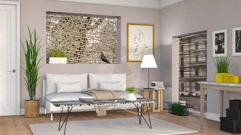Neutrals 5 - Living room - by Sally Simpson