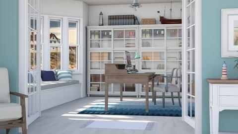 Coastal home office - Office - by Lizzy0715