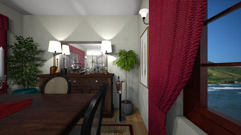 Crimson and Umber - Eclectic - by almecor2311