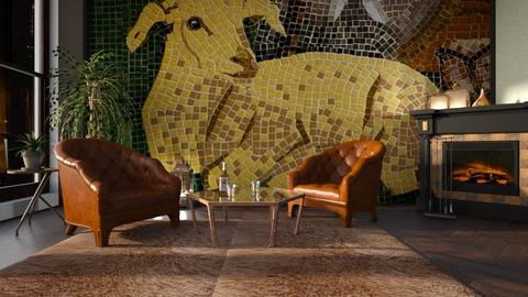 My_Sheep - Living room - by ZuzanaDesign