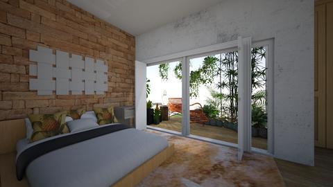 Jardim de inverno - Bedroom - by nanabpf