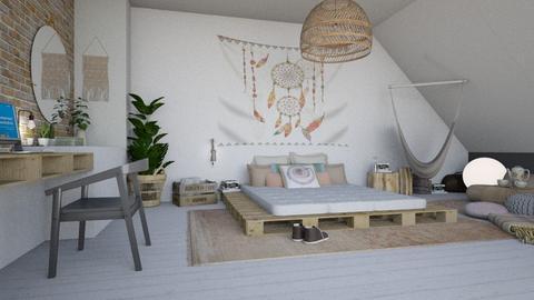 teenager - Bedroom - by miadesign