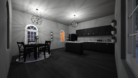 emo kitchen - Modern - Kitchen - by roomdesigner1245