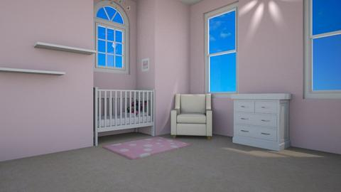 Pink Nursery - Kids room - by Emily_Beech