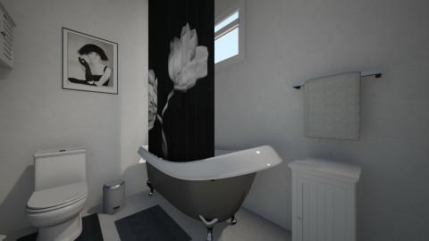 p - Minimal - Bathroom - by nataliaMSG