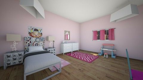 little daancers bedroom - by Mya9
