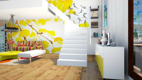 mine - Country - Living room - by Kamilia Asma