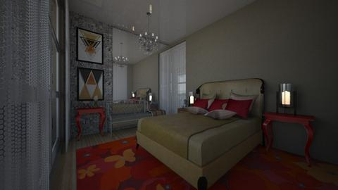Simples - Bedroom - by Maria Helena_215