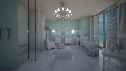 modern bathroom - Bathroom - by lil Paz