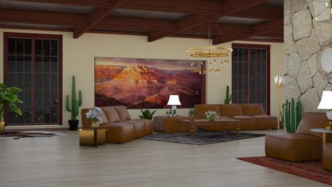 Canyon Inspired - Minimal - Living room - by laurenpoisner