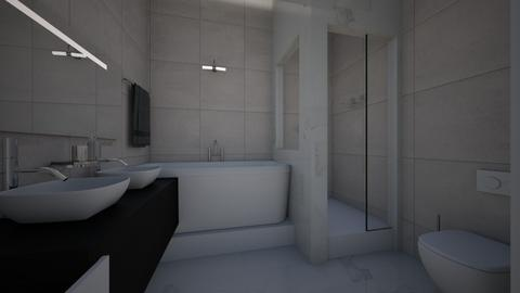bathroom - Modern - Bathroom - by raissasevero