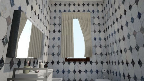 Bagno - Bathroom - by lollouio