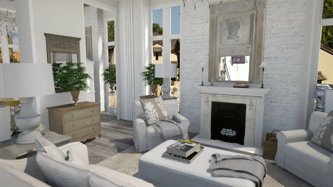 french country 2 - Country - Living room - by user_7618082