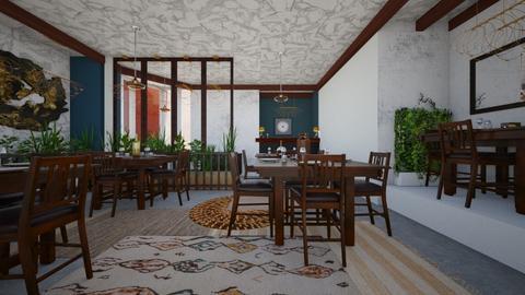 Buisness dining  - Dining room - by hollygilder