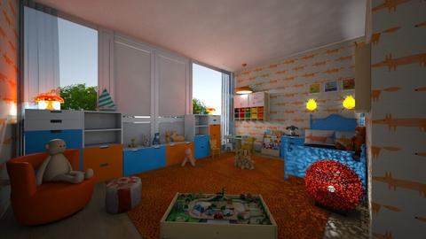 toddler - Kids room - by hillygabe