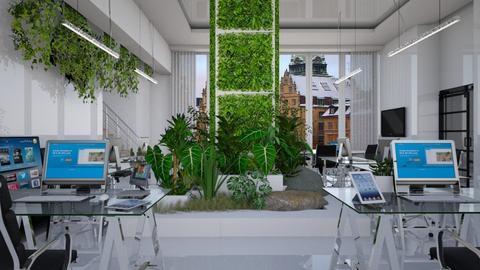 green office - Modern - Office - by Ida Dzanovic